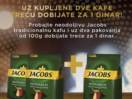 Jacobs, dobijate više!