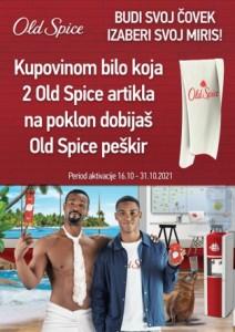 Budi svoj čovek, izaberi svoj miris. Old Spice!