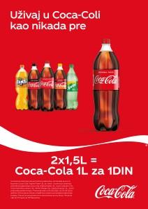 Uz Coca-colu uvek dobijate više