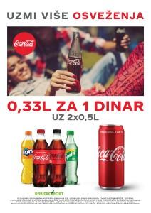 Uzmi više osveženja, Coca-Cola
